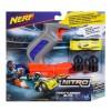 Nerf Nitro Throttleshot Blitz Grå med gul bil