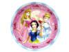 Disney Princess, Tallrikar, 8 st, 23 cm
