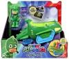 Pyjamashjältarna Figur med fordon PJ Masks, Gekko (grön)