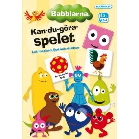 Babblarna Kan-Du-Göra Spelet - Babblarna Kan-Du-Göra Spelet