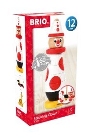 BRIO 30230 Stapelklossar Clown - BRIO 30230 Stapelklossar Clown