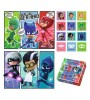 PJ Masks 2 in 1 Jigsaw Pussel Set med Memo Card spel