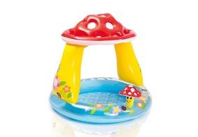 INTEX Babypool 102x89cm (45L) (Mushroom) - INTEX Babypool 102x89cm (45L) (Mushroom)