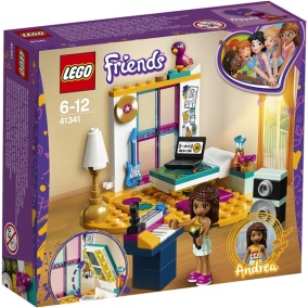41341 LEGO Friends Andreas sovrum - 41341 LEGO Friends Andreas sovrum