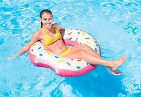 INTEX badring munk donut 107cm - INTEX badring donut 107cm