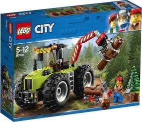 LEGO City 60181 Skogstraktor - LEGO City 60181 Skogstraktor