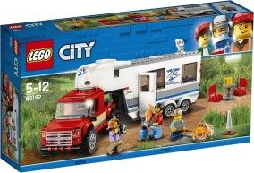 LEGO City 60182 Pickup Och Husvagn - LEGO City 60182 Pickup Och Husvagn