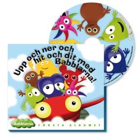 Babblarna Första Albumet CD - Babblarna Första Albumet CD