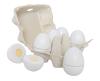 Äggkartong med trä Ägg - Jabadabado