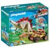 Playmobil Dinos - Forskarmobil med stegosaurus 9432