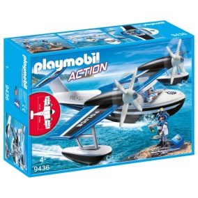 Playmobil Action - Polisflygplan 9436 - Playmobil Action - Polisflygplan 9436
