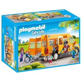 Playmobil City Life - Skolbuss 9419 - Playmobil City Life - Skolbuss 9419