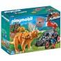 Playmobil Dinos - Jeep med dinosaurusnät 9434 - Playmobil Dinos - Jeep med dinosaurusnät 9434