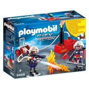 Playmobil City Action - Brandmän med vattenpump 9468 - Playmobil City Action - Brandmän med vattenpump 9468