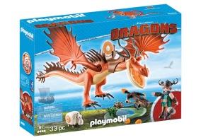 Playmobil Dragons - Snorslödder och Kroktand 9459 - Playmobil Dragons - Snorslödder och Kroktand 9459
