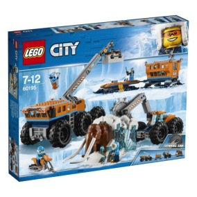 LEGO City Arctic Expedition - Arktisk mobil utforskningsbas 60195 - LEGO City Arctic Expedition - Arktisk mobil utforskningsbas 60195