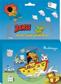 Bamse, Ljudbok & Bok Bamse & Sjörövarna - Bamse, Ljudbok & Bok Bamse & Sjörövarna
