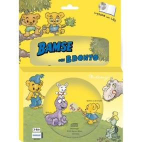 Bamse, Bamse & Bronto Bok med CD - Bamse, Bamse & Bronto Bok med CD