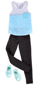 Barbie Ken kläder, linne, byxa, skor - Barbie Ken kläder, linne, byxa, skor