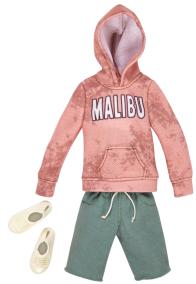Barbie Ken kläder, huvtröja, shorts, skor - Barbie Ken kläder, huvtröja, shorts, skor