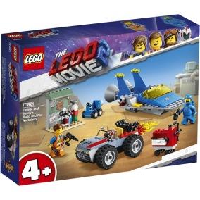 70821 LEGO Movie Emmet och Bennys Verkstad 4+ - 70821 LEGO Movie Emmet och Bennys Verkstad 4+