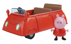 Greta Gris - Peppa Pig Gretas bil - Greta Gris - Peppa Pig Gretas bil