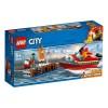 LEGO City Fire 60213, Eldsvåda i hamnen 5+