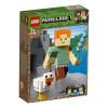 LEGO Minecraft 21149, BigFig Alex med kyckling