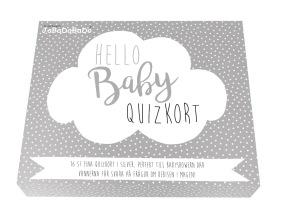 Jabadabado Quizkort hello baby - Jabadabado Quizkort hello baby