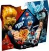 LEGO Ninjago Spinjitzu Slam Kai mot Samurai 70684 8+