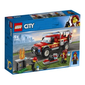 60231 Fire Chief Response Truck LEGO City 5+ - 60231 Fire Chief Response Truck LEGO City 5+