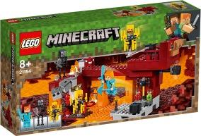 LEGO Minecraft 21154 - Den flammande bron 8+ - LEGO Minecraft 21154 - Den flammande bron 8+