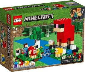 LEGO Minecraft 21153 Ullfarmen 7+ - LEGO Minecraft 21153 Ullfarmen 7+