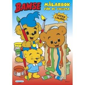 Bamse - Målarbok för de yngsta - Bamse - Målarbok för de yngsta