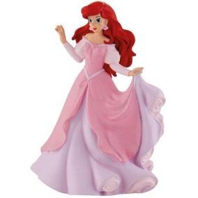 Bullyland WD Figur Disney Princess ARIEL Rosa klänning - Bullyland WD Figur Disney Princess ARIEL Rosa klänning