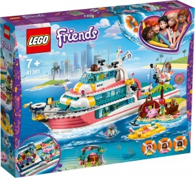 LEGO Friends 41381 Räddningsbåt 7+ - LEGO  Friends 41381 Räddningsbåt 7+
