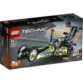 42103 LEGO technic Dragster 7+ - 42103 LEGO technic Dragster 7+
