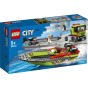 60254 LEGO city Racerbåtstransport 5+ - 60254 LEGO city Racerbåtstransport 5+