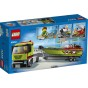 60254 LEGO city Racerbåtstransport 5+