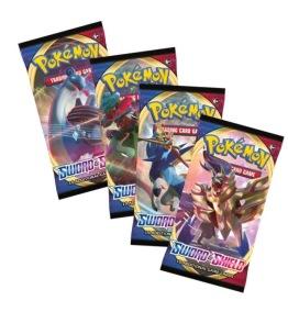 Pokemon Sword & Shield Booster - Pokemon Sword & Shield Booster