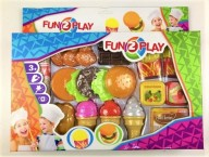 Hamburgare med tillbehör, Fun2Play