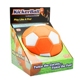 Swerve Ball-Kickerball - Swerve Ball-Kickerball Orange