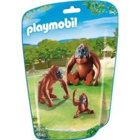 Playmobil Orangutang Familj 6648 - Playmobil Orangutang Familj 6648