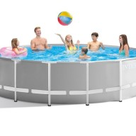 Intex Prism Rörpool 457 x 122 cm 16,805 liter.