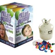 Helium tub + 30 ballonger