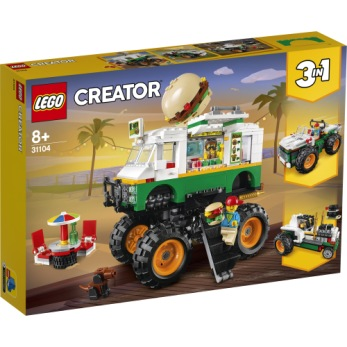 31104 LEGO Creator Hamburgermonstertruck 8+ - 31104 LEGO Creator Hamburgermonstertruck 8+