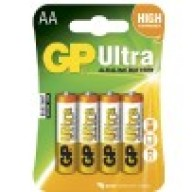 GP Batterier Ultra AA 4-pack