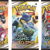 Pokemon - Sun & Moon 12 Cosmic Eclipse Booster Pack