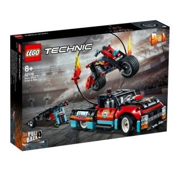42106 LEGO technic Stuntuppvisningsbil och motorcykel 8+ - 42106 LEGO technic Stuntuppvisningsbil och motorcykel 8+