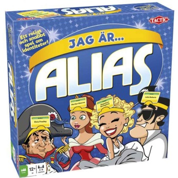 Tactic Spel - Jag är Alias 12+ - Tactic Spel - Jag är Alias 12+